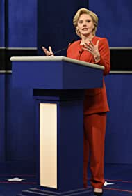 Kate McKinnon as Democratic Presidential Candidate Hillary Clinton during the 'Debate Cold Open' sketch on October 1, 2016