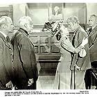 Dan Duryea, Stanley Andrews, Raymond Greenleaf, Louis Jean Heydt, and Gale Storm in Al Jennings of Oklahoma (1951)