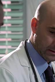 Mekhi Phifer and Stanley Tucci in ER (1994)