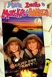 You're Invited to Mary-Kate & Ashley's Camping Party Poster