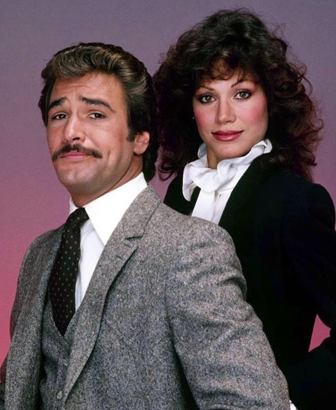Pamela Hensley and Lee Horsley in Matt Houston (1982)