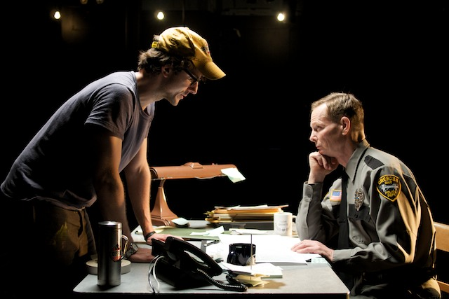 Bill Irwin and Michael Tisdale in Goldstar, Ohio (2010)