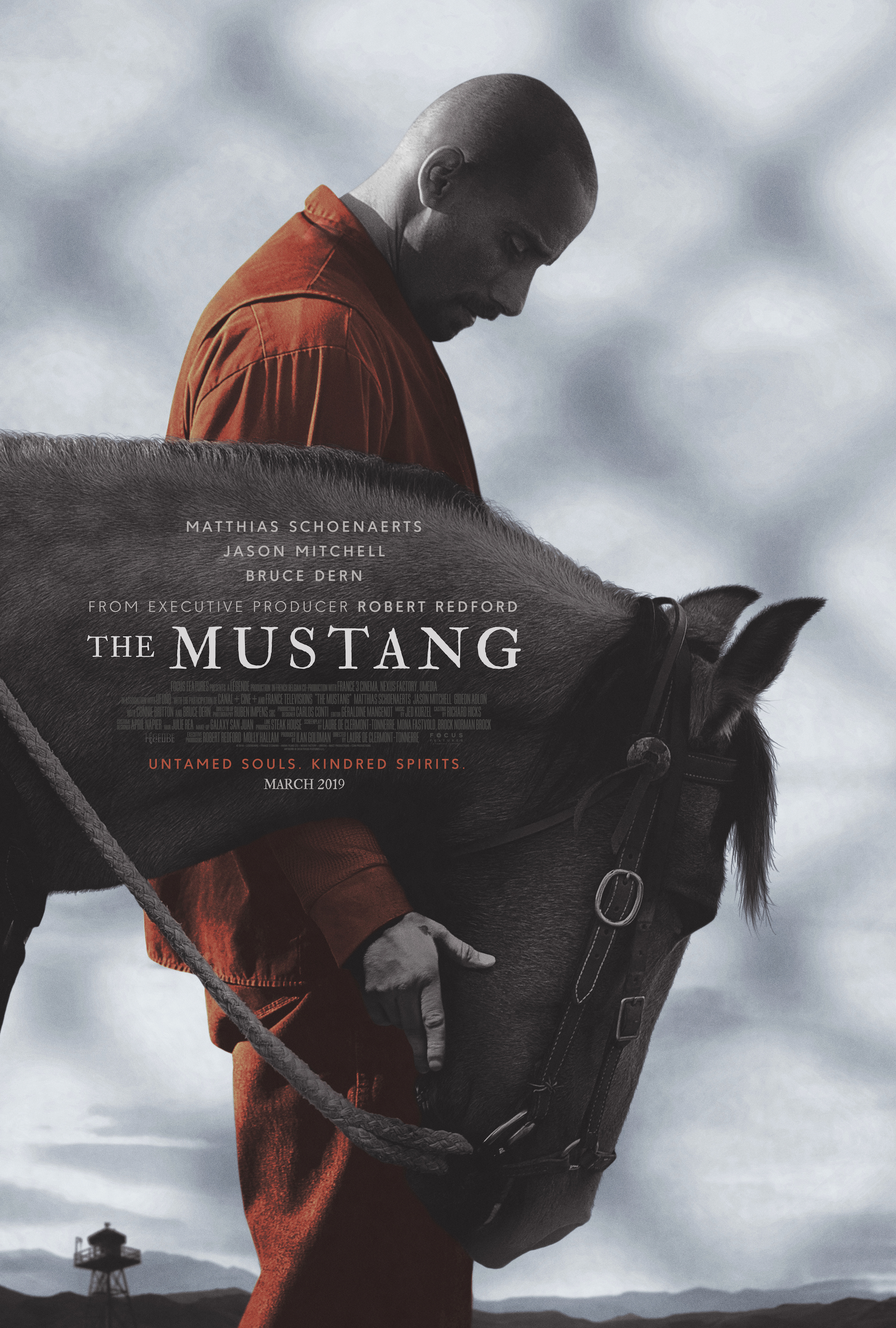Image result for the mustang movie poster