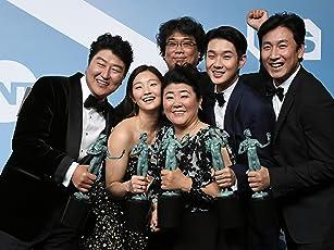 Bong Joon Ho, Kang-ho Song, Sun-kyun Lee, Hye-jin Jang, and Woo-sik Choi