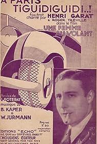 Henri Garat in Une femme au volant (1933)