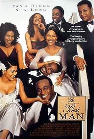 Nia Long, Monica Calhoun, Morris Chestnut, Taye Diggs, Terrence Howard, Sanaa Lathan, Melissa De Sousa, and Harold Perrineau in The Best Man (1999)