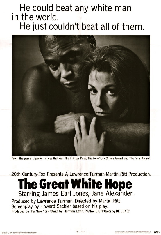 James Earl Jones and Jane Alexander in The Great White Hope (1970)