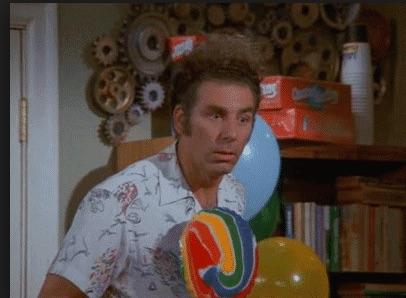 Michael Richards in Seinfeld (1989)