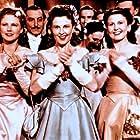 Hilde Foeda, Dora Komar, and Vera Schmid in Wiener Mädeln (1949)