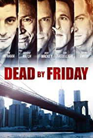 Richard Hatch, Dan Baccelliere, Justin Smith, Tim Intravia, and David Mackey in Dead by Friday (2012)
