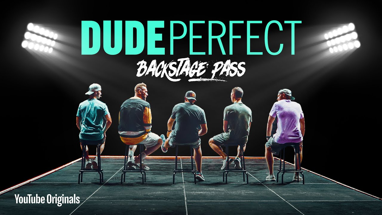 Cody Jones, Tyler Toney, Coby Cotton, Cory Cotton, and Garrett Hilbert in Dude Perfect: Backstage Pass (2020)