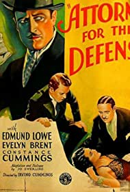Attorney for the Defense (1932) Poster - Movie Forum, Cast, Reviews