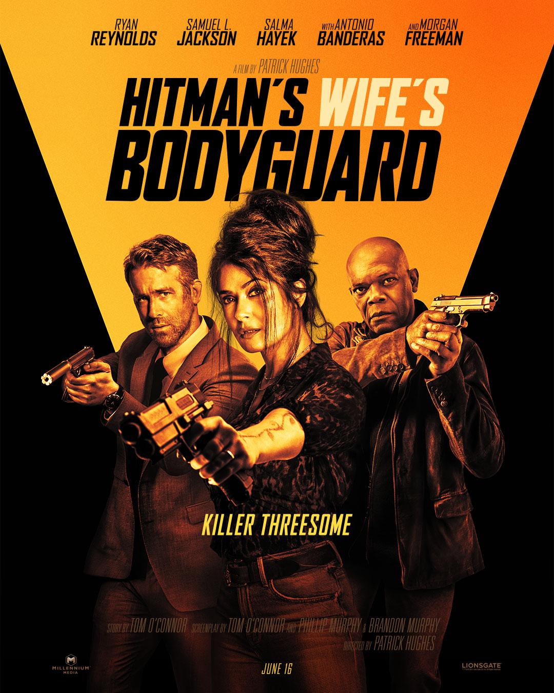 The Hitman's Wife's Bodyguard (2021) Telugu Dubbed (Voice Over) & English [Dual Audio] WebRip 720p [1XBET]