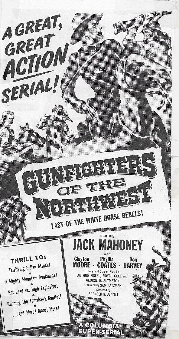 Jock Mahoney in Gunfighters of the Northwest (1954)