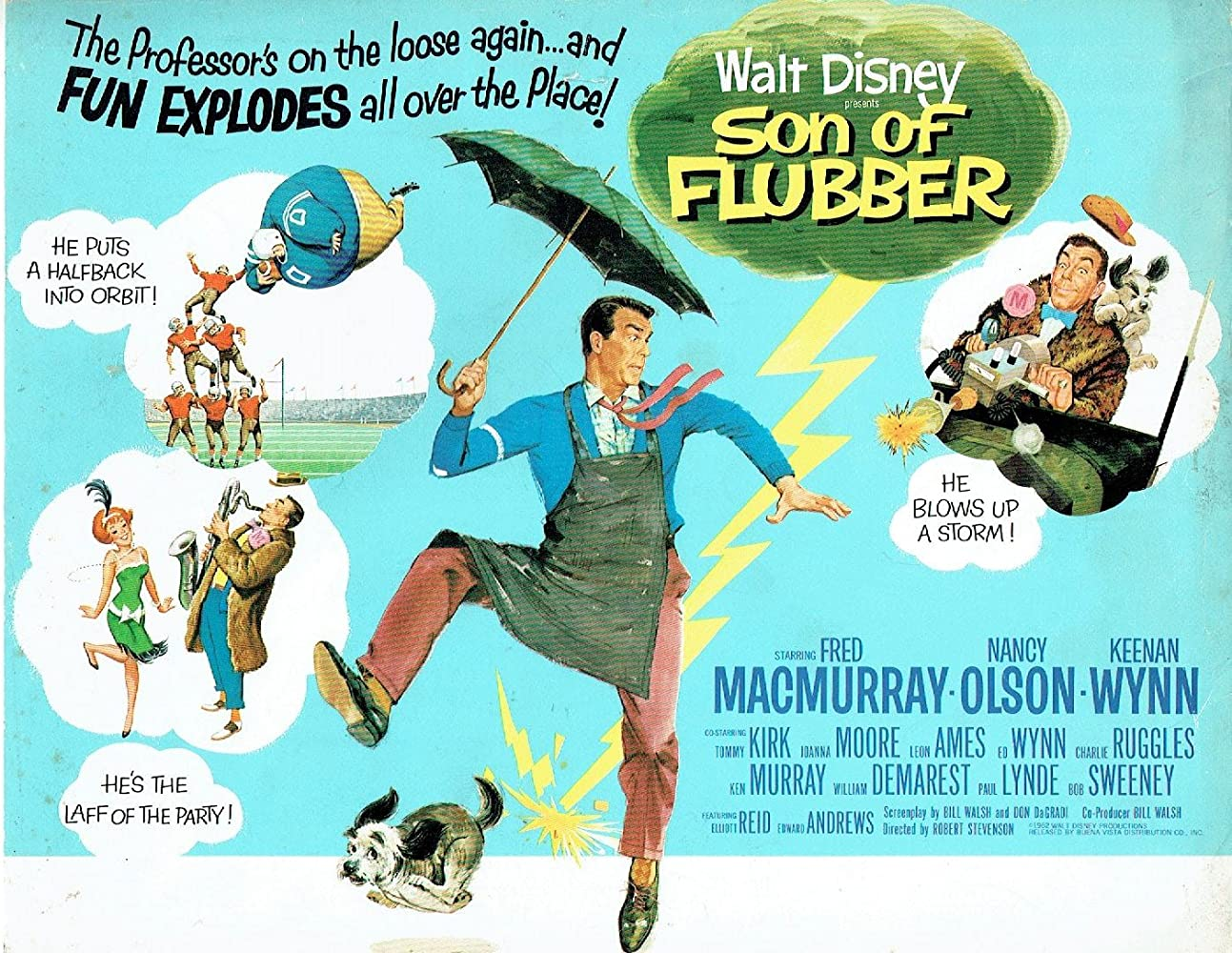 Image result for son of flubber 1963