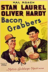 Oliver Hardy and Stan Laurel in Bacon Grabbers (1929)