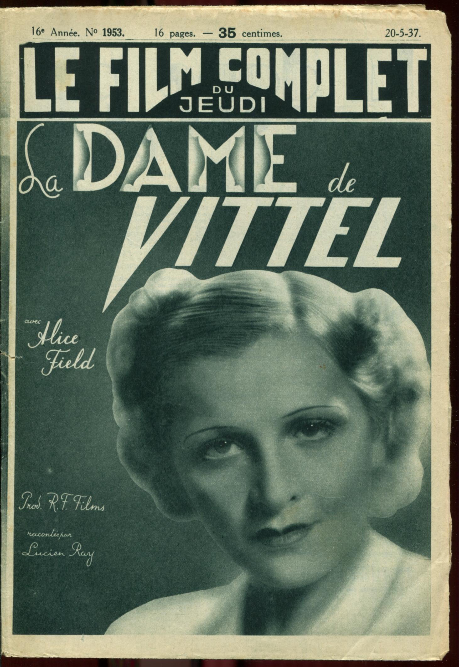 Alice Field in La dame de Vittel (1937)
