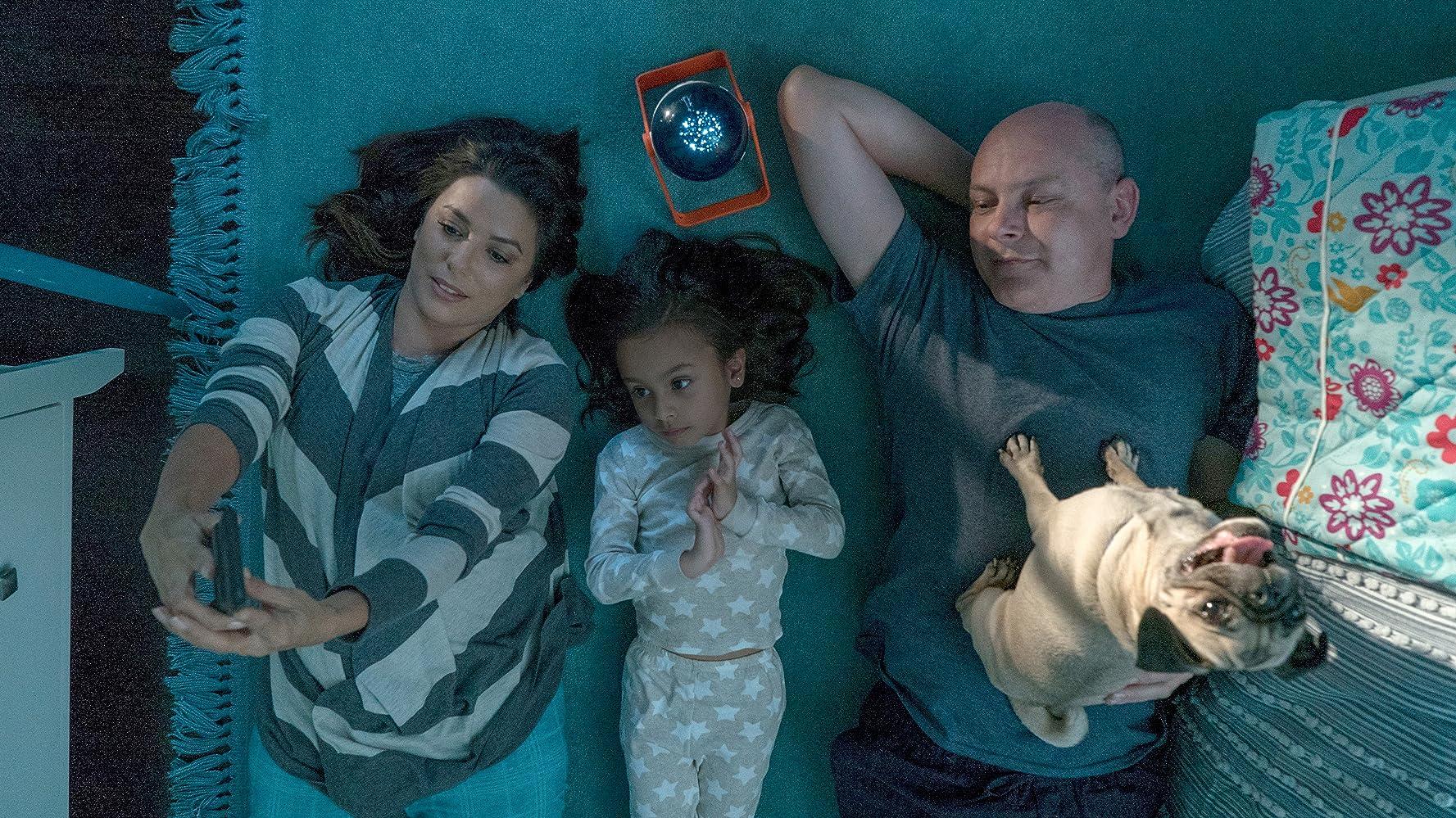 Eva Longoria, Rob Corddry, and Elizabeth Phoenix Caro in Dog Days (2018)