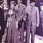 Boris Karloff, Bud Abbott, Lou Costello, Craig Stevens, and Helen Westcott in Abbott and Costello Meet Dr. Jekyll and Mr. Hyde (1953)