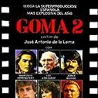 Margaux Hemingway, Willie Aames, Richard Jaeckel, Lee Van Cleef, Ana Obregón, and Jorge Rivero in Goma-2 (1984)