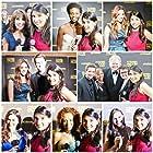David Winning, Kate Linder, Cory Oliver, Chrystee Pharris, Adina Porter, Shane Harper, Rachel Hendrix, Maura Dunbar, Rustin Gresiuk, Gabriela Lopez, and Machelle Noel at an event for Faith Hollywood TV (2012)