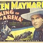 Ken Maynard and Tarzan in King of the Arena (1933)