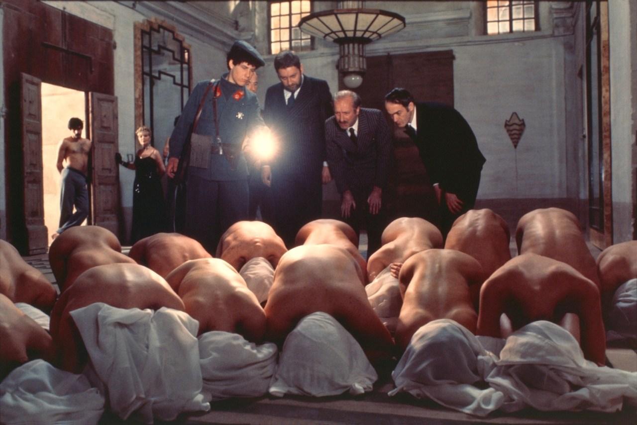 Paolo Bonacelli, Giorgio Cataldi, Elsa De Giorgi, Umberto Paolo Quintavalle, and Aldo Valletti in Salò o le 120 giornate di Sodoma (1975)