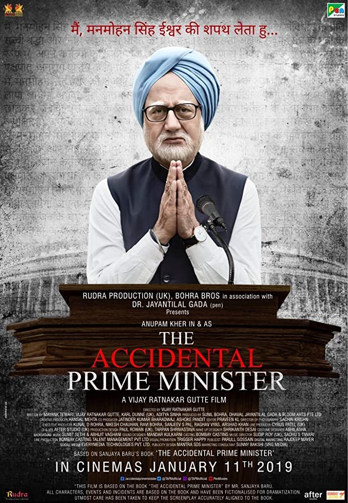 The Accidental Prime Minister 2019 Hindi PreDVDRip AAC 700MB MKV