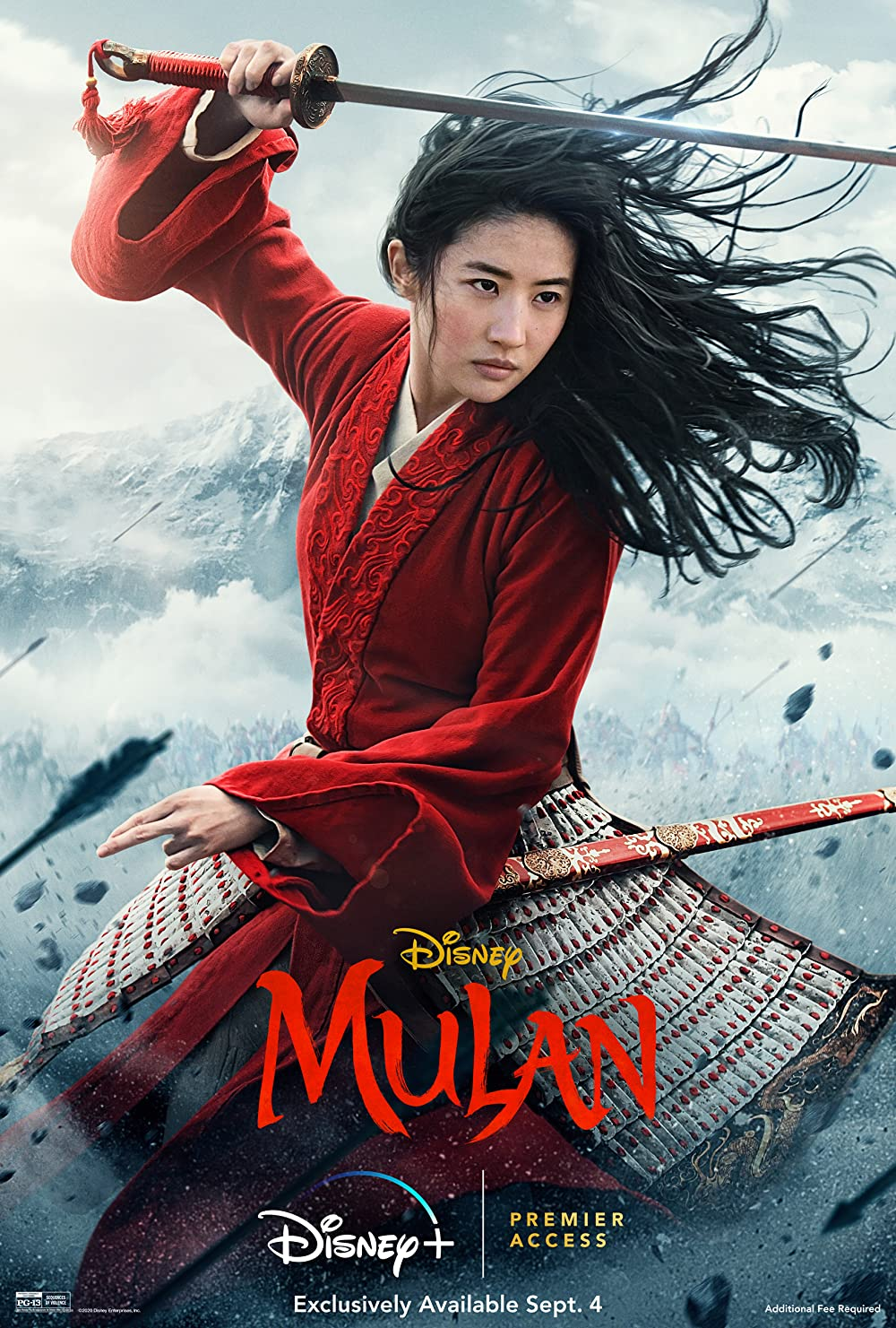 Mulan 2020 Hindi ORG Dual Audio 400MB BluRay ESubs Download