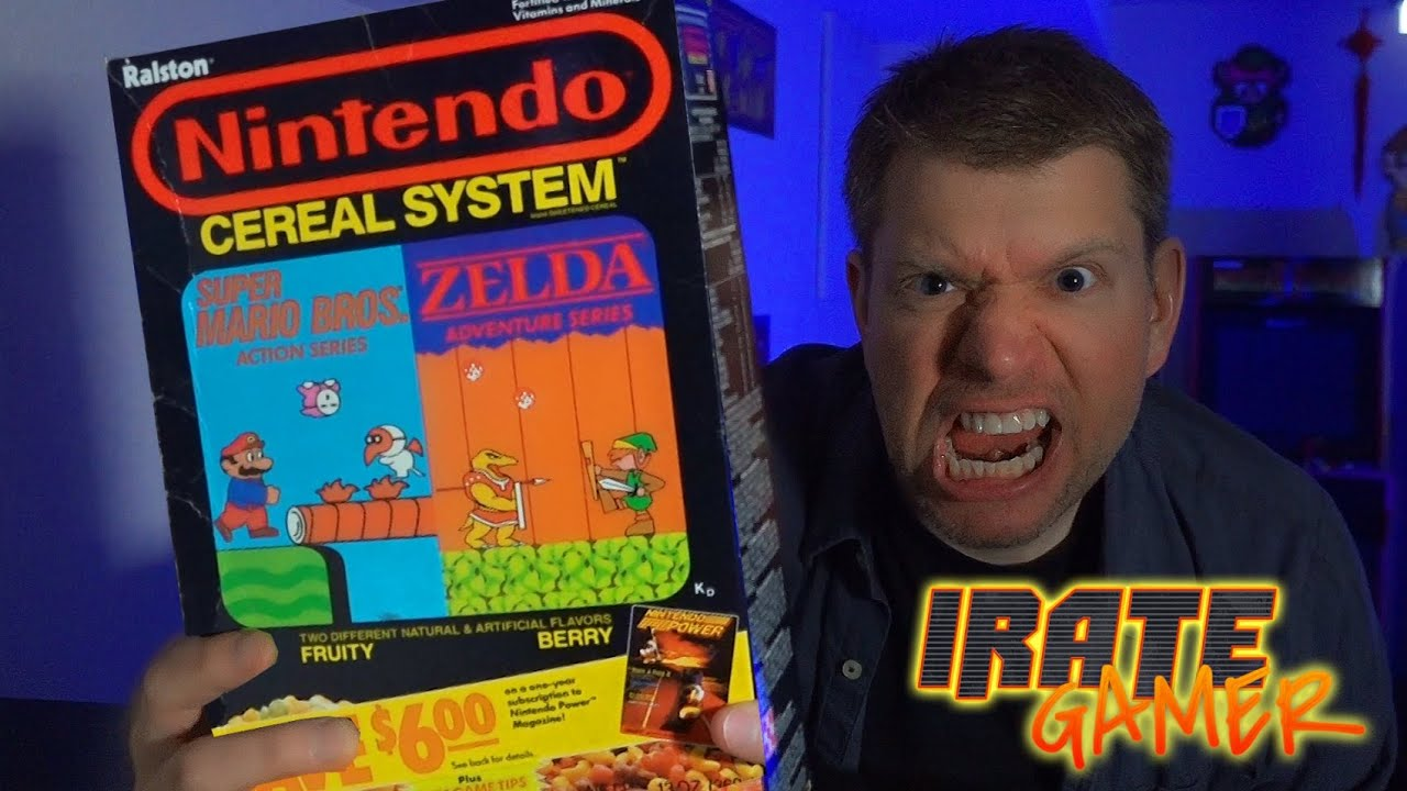 Chris Bores in Nintendo Cereal System (2020)