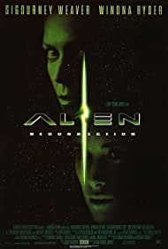 Winona Ryder and Sigourney Weaver in Alien: Resurrection (1997)