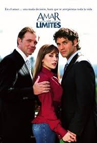 Valentino Lanus, Karyme Lozano, and René Strickler in Amar sin límites (2006)