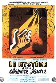 Le mystère de la chambre jaune Poster