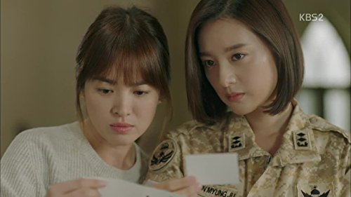 Hye-Kyo Song and Kim Ji-Won in Descendants of the Sun: Descendants of the Sun: Recap Special Part 2 (2016)