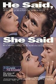 He Said, She Said (1991) Poster - Movie Forum, Cast, Reviews