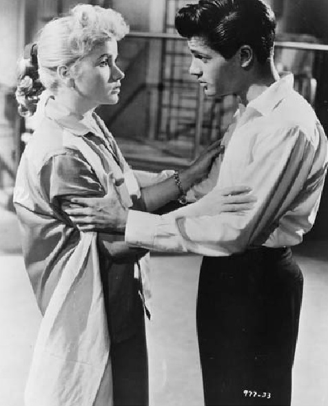 Diane Jergens and Tommy Sands in Sing Boy Sing (1958)