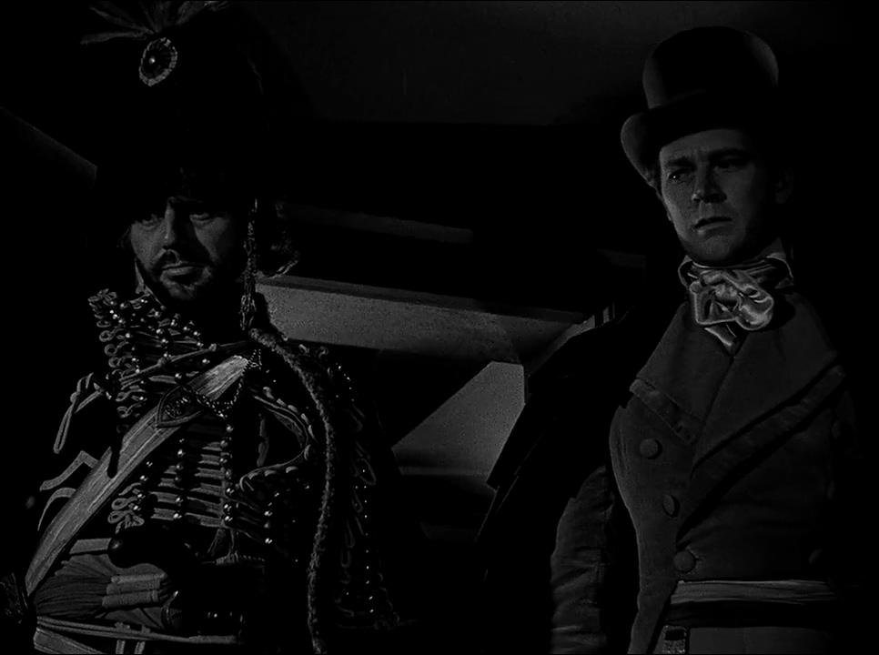 Jess Barker and Charles McGraw in Reign of Terror (1949)