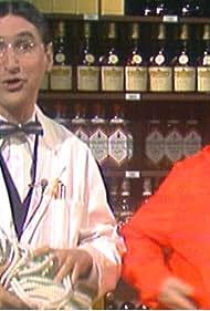 Brasse Brännström and Magnus Härenstam in Magnus och Brasse show (1980)