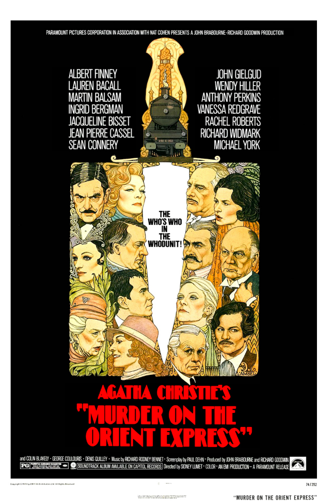 Murder On The Orient Express 1974 Imdb