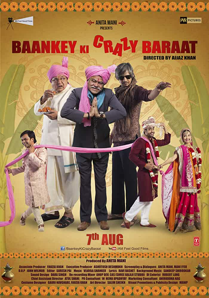 Baankey Ki Crazy Baraat (2017) 720P Hindi WEB-Rip