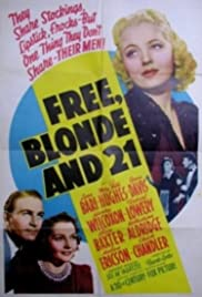 Free, Blonde and 21 Poster