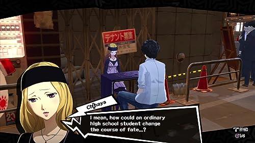 Persona 5: Confidants: Introducing Chihaya Mifune (UK)