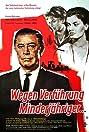 Wegen Verführung Minderjähriger (1960) Poster