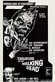 Creature of the Walking Dead(1965) Poster - Movie Forum, Cast, Reviews