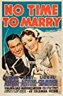 No Time to Marry (1938) Poster
