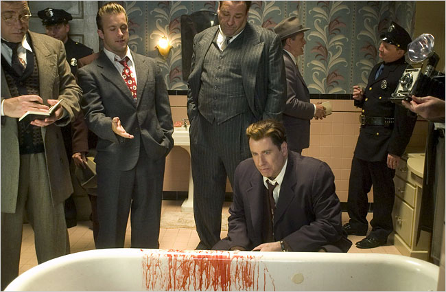 John Travolta and James Gandolfini in Lonely Hearts (2006)