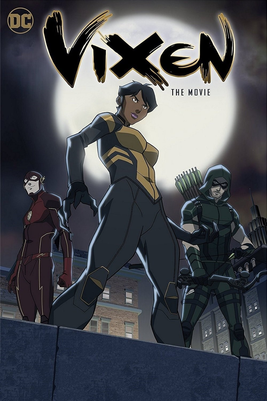 Megalyn Echikunwoke, Stephen Amell, and Grant Gustin in Vixen (2015)