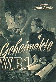 Geheimakte W.B.1 Poster