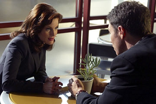 Tim Daly and Laura Leighton in Eyes (2005)