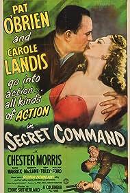 Pat O'Brien and Carole Landis in Secret Command (1944)